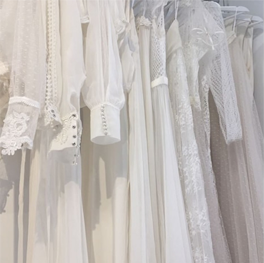 Beautiful Wedding Dresses From White